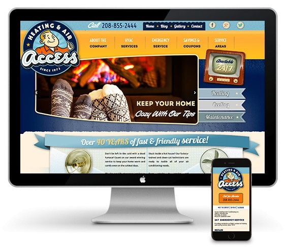 meridian idaho web design